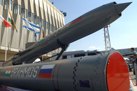 The BrahMos is attracting interest on the international arms market. Source: TASS
