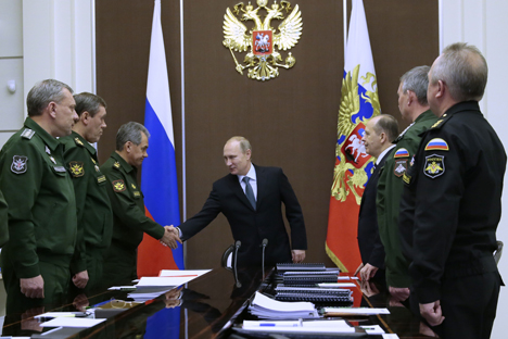 Russian arms and military equipment are still some of the most sought after in the world, Putin said. Source: TASS