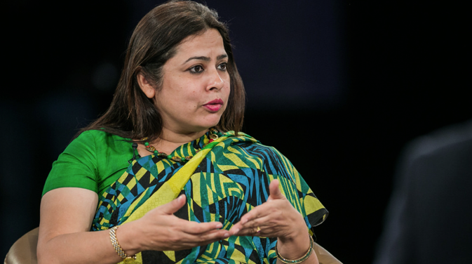 Meenakshi Lekhi. Source: World Economic Forum