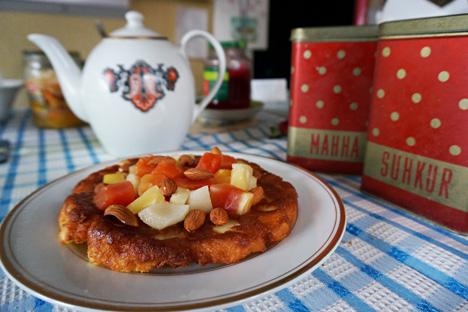 Guryevskaya porridge. Source: Anna Kharzeeva