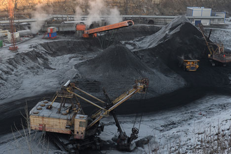 The deal between Tata Power and SUEK could prepare the ground for boosting Russian coal sales in the Asia Pacific region. Source: RIA Novosti