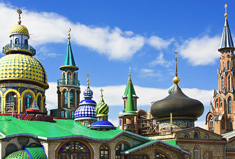 Temple of all religions in Kazan. Source: Shutterstock/Legion-Media