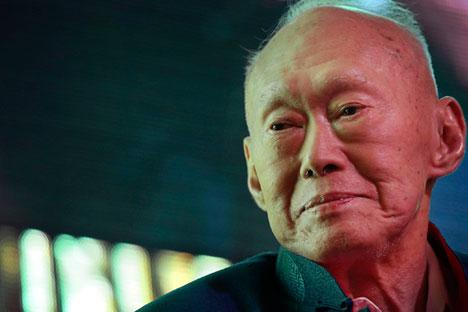 Lee Kuan Yew. Source: AP