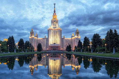 Universidade Estatal de Moscou perdeu 5 posições desde o ano passado.