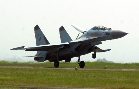 The IAF has ordered a total of 272 Russian Su-30MKI fighters. Source: AP