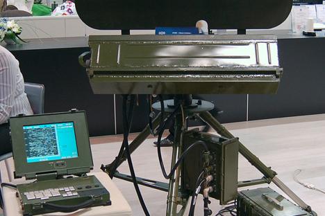 """Aistenok"" (""Baby Stork"") portable radar. Source: Press Photo"