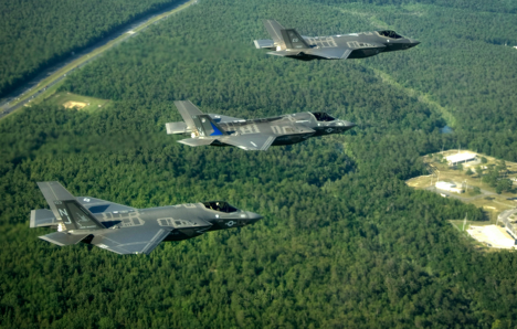 F-35 jets. Source: wikipedia.org