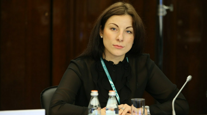 Tatiana Seliverstova, head of the Department of International Cooperation and Innovation Activity of the Russian Union of Youth. Source: Personal archive