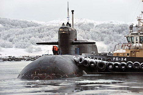 Russia can now afford to have at least two ballistic missile submarines out at sea at all times — one each for the North Fleet and the Pacific Fleet. Source: PhotoXPress