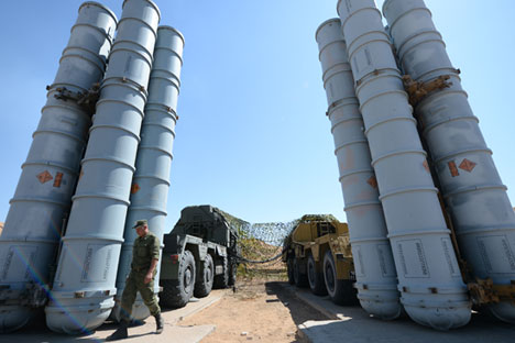 S-300 surface-to-air missiles. Source: Reuters