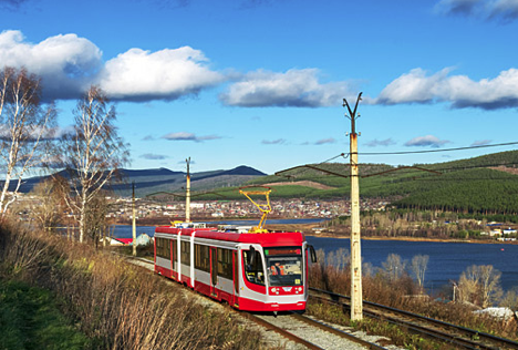 For lovers of unusual public transit: come to Zlatoust, home of Europe's highest mountain tramway. Source: Lori/Legion-Media