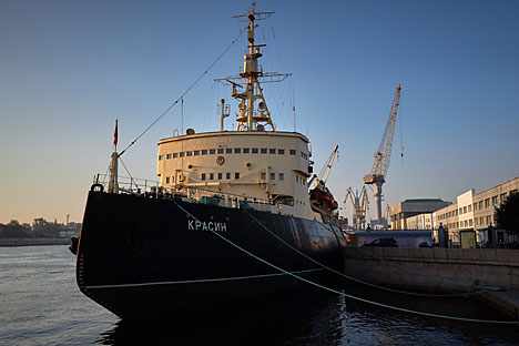 In Russia, there is a tradition of naming icebreakers after their predecessors. Source: Alexei Danichev / RIA Novosti