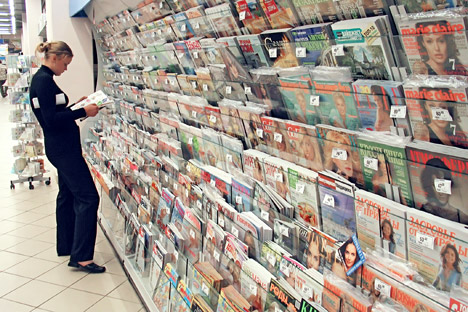 Under the new law, foreign investment in Russian media is limited to 20 percent. Source: Vladimir Vyatkin / RIA Novosti