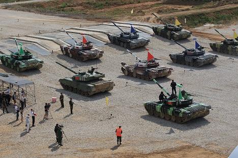 Tank biathlon. Source: Sergey Mikheev/RG