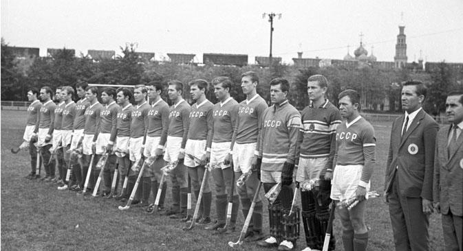 Pioneers of Soviet field hockey in 1969. Source: RIA Novosti/Utkin