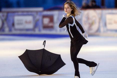 Olympic figure skating champion Yulia Lipnitskaya. Source: Alexander Vilf / RIA Novosti