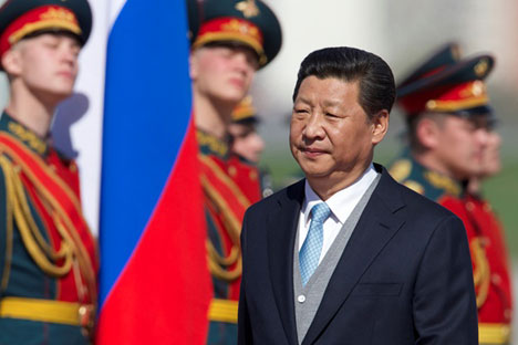 Moscow and Beijing may create a condominium in Central Asia in which Russia will be the guarantor of security and China - the largest economic player. Source: AP