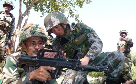 China and India are capable of defending their respective territories and interests. Source: AP