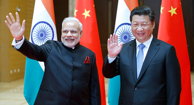 For Russia, the rapprochement between India and China is an issue of paramount importance. Source: AP
