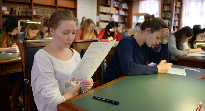 Russian universities offer unique opportunities for international students. Source: Ekaterina Chesnokova / RIA Novosti