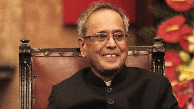 Pranab Mukherjee. Source: EPA