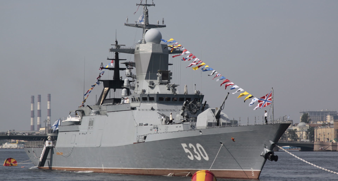 Project 20380 Steregushchy class corvette. Source: Rubinbot/wikipedia