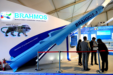 BrahMos has successfully handed over three Technical Positions (TP) to the Indian Army and two TPs for the IAF. Source: EPA