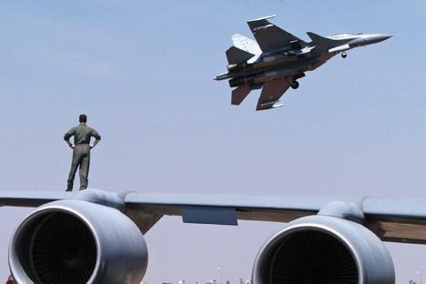 Липецки пилоти тестирају Су-30 и Су-35