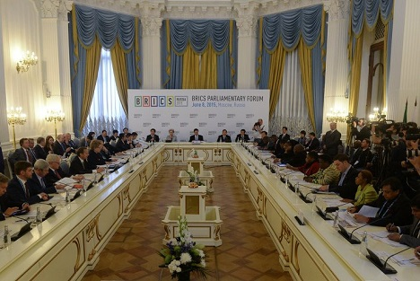 Inter-parliamentary dialogue will help to simplify the implementation of decisions in national legislation. Source: BRICS2015.ru