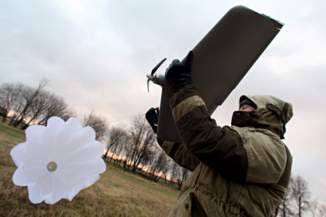 "Domestic UAV developers are now paying attention not only to the use of drones for military purposes, but also for ""civilian use"" for them. Source: Igor Zarembo / RIA Novosti"