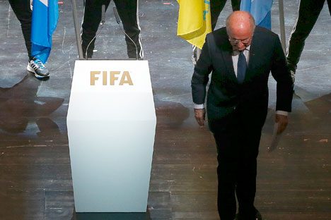 Most people do not know that the much vilified Sepp Blatter is the first FIFA chief to organise the World Cup in Asia and Africa. Source: Reuters
