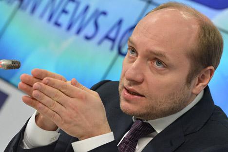 Alexander Galushka, Minister for Far East Development. Source: Yuri Mashkov/TASS