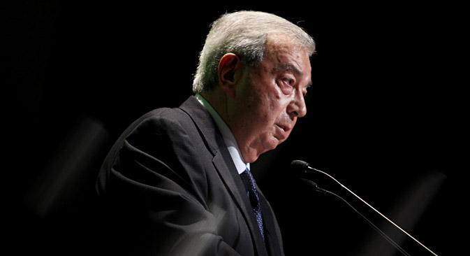 Primakov's single biggest contribution is that he ended the age of Russian innocence. Source: Olesya Kurlyaeva/RG