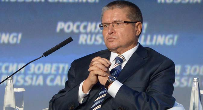 Alexey Ulyukaev, Russia's Minister for Economic Development. Source: RIA Novosti