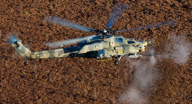 Mi-28N. Source: Press photo