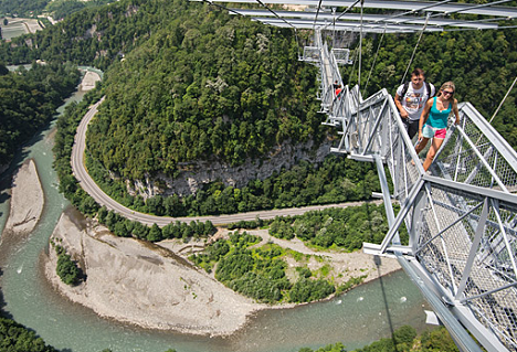 Take it to the extreme: bungee jumping and other activities that'll take your breath away in Sochi. Source: RIA Novosti/Mikhail Mokrushin