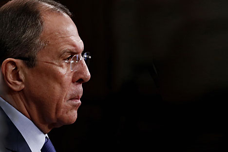 Sergey Lavrov, Russian Foreign Minister. Source: Photoshot / Vostock Photo