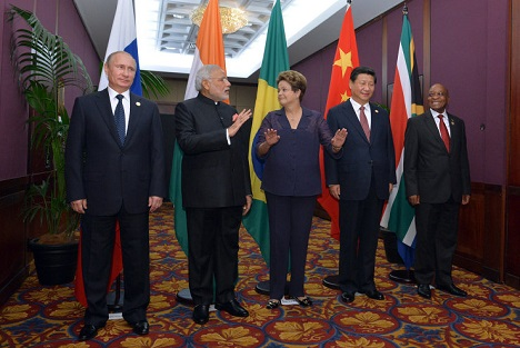 The four original BRICS nations are ranked by the United Nations and IMF as being among the world's ten largest economies in terms of nominal GDP. Source: BRICS2015.ru
