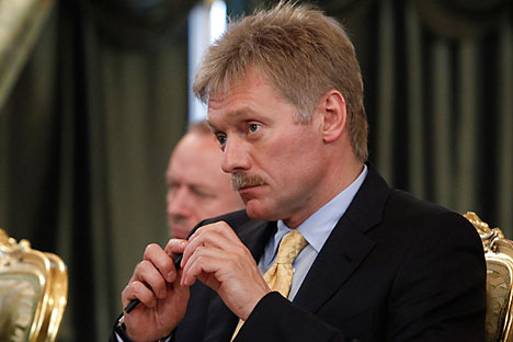 Kremlin spokesman Dmitry Peskov. Source: Reuters