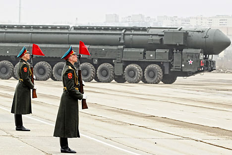 Topol missile complex. Source: EPA