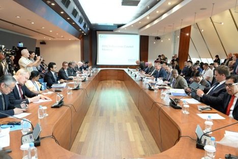 A meeting of the BRICS Business Council. Source: BRICS2015.ru