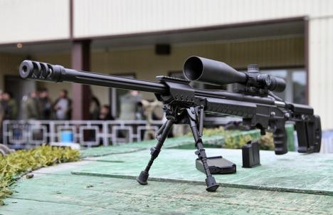 The high-precision sniper rifle T-5000. Source: vitalykuzmin.net
