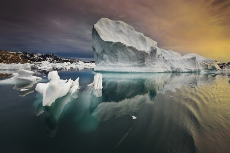 The Arctic shelf is believed to hold approximately 30 percent of the world's undiscovered natural gas and 15 percent of its oil, with the majority of these resources remaining offshore. Source: Sergey Anisimov/courtesy MAMM