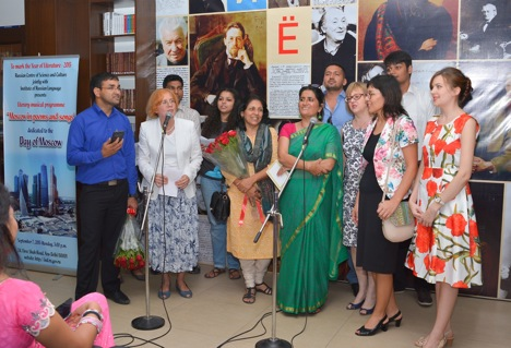 """Moscow in Poems and Songs"" programme was held on September 7, 2015."
