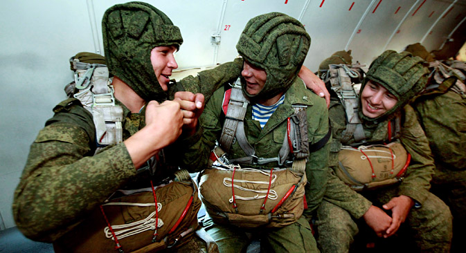 Today VDV is the core of the newly created Rapid Reaction Force. Source: Vitaly Ankov/RIA Novosti