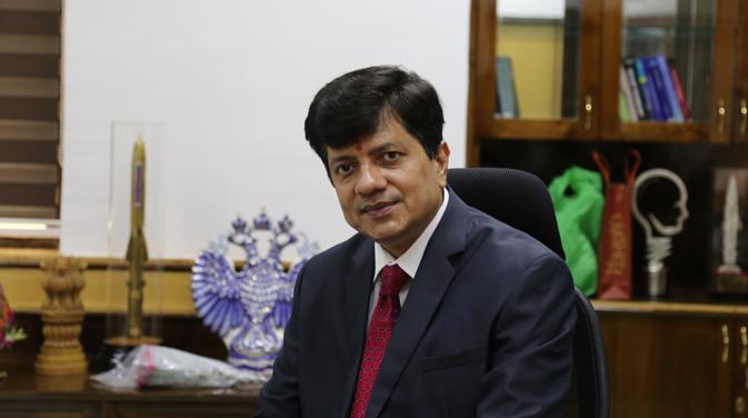 BrahMos CEO Sudhir Mishra. top