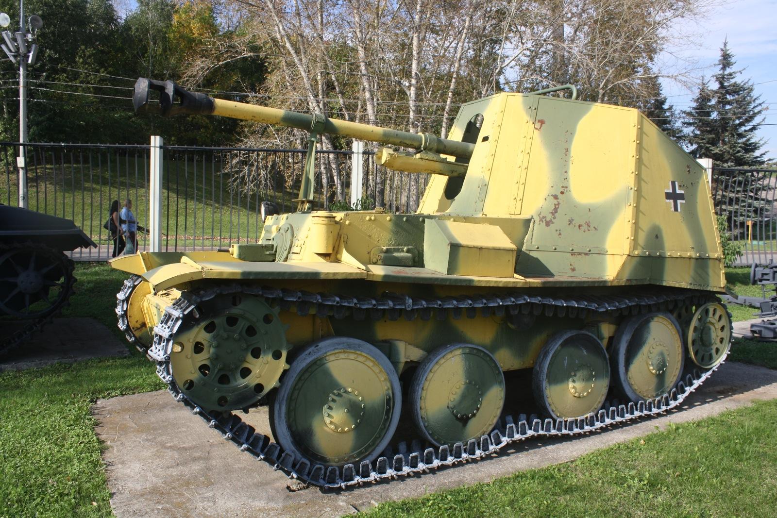 Овде се налазе и бројна заробљена јапанска и немачка војна возила.