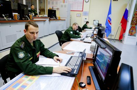 Voronezh-DM radar station in Kaliningrad.