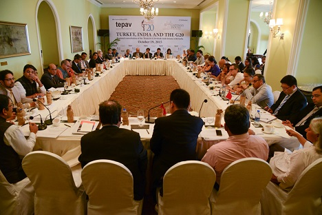 """Turkey, India and the G20"" meeting in Mumbai."
