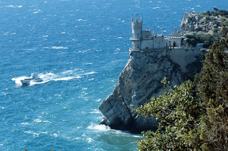 The Swallow's nest in Yalta, Crimea. Source: TASS/Ovchinnikov Alexander